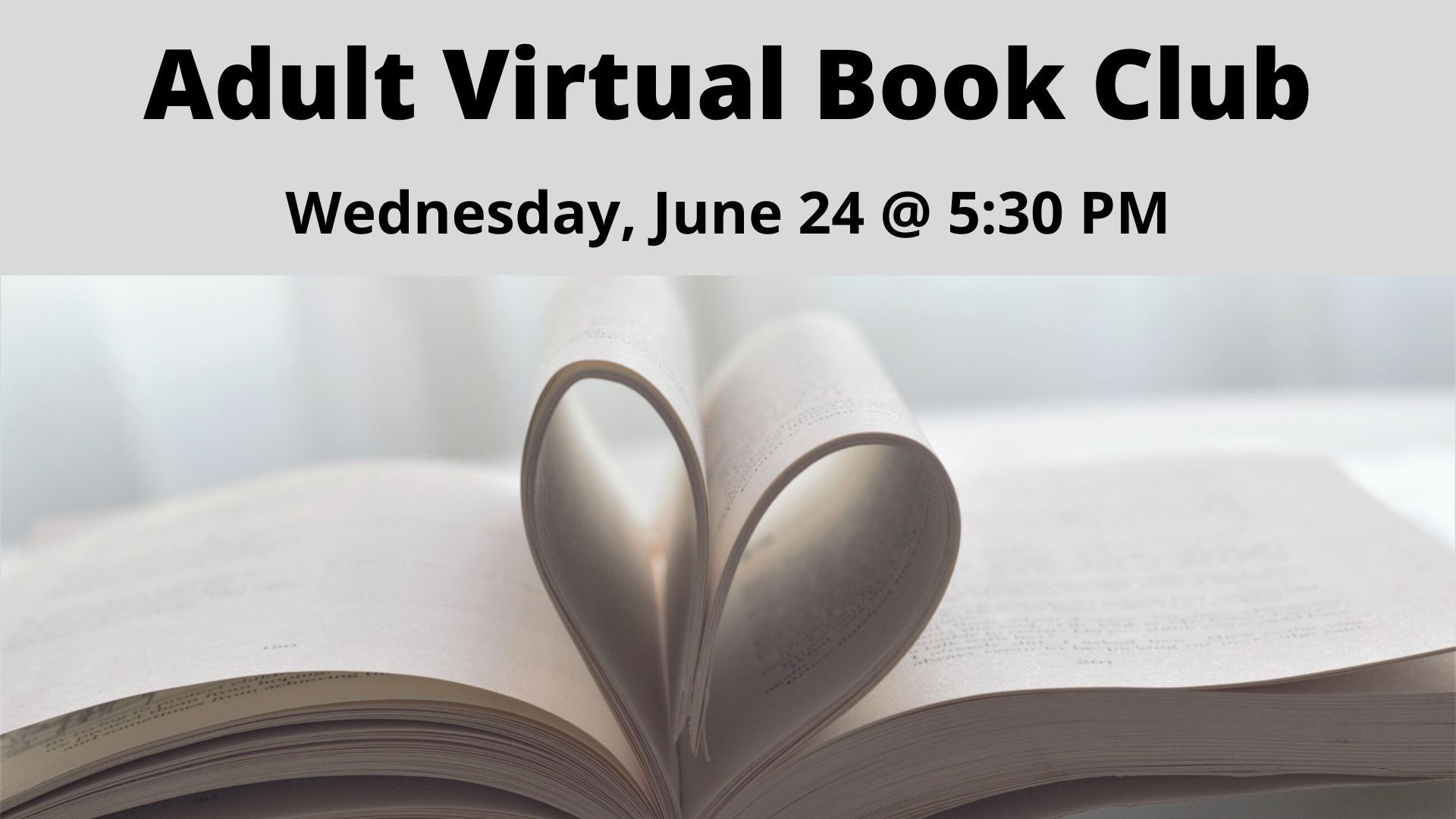 Adult Virtual Book Club