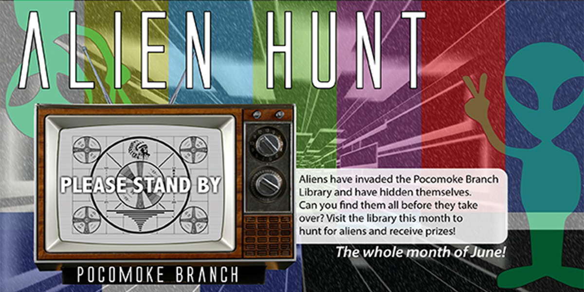 Alien Hunt June 2019 Pocomoke Branch