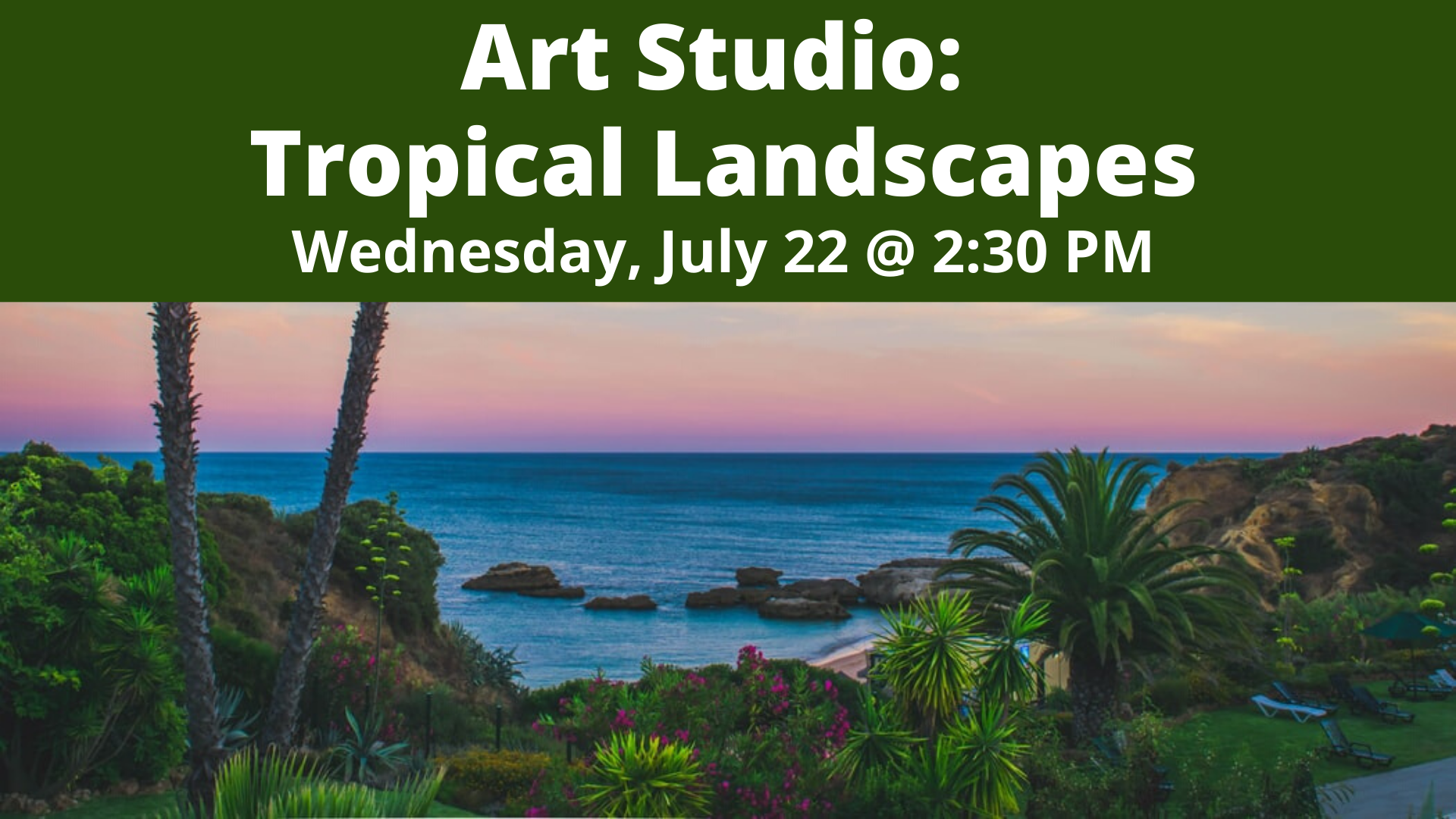Art Studio: Tropical Landscapes