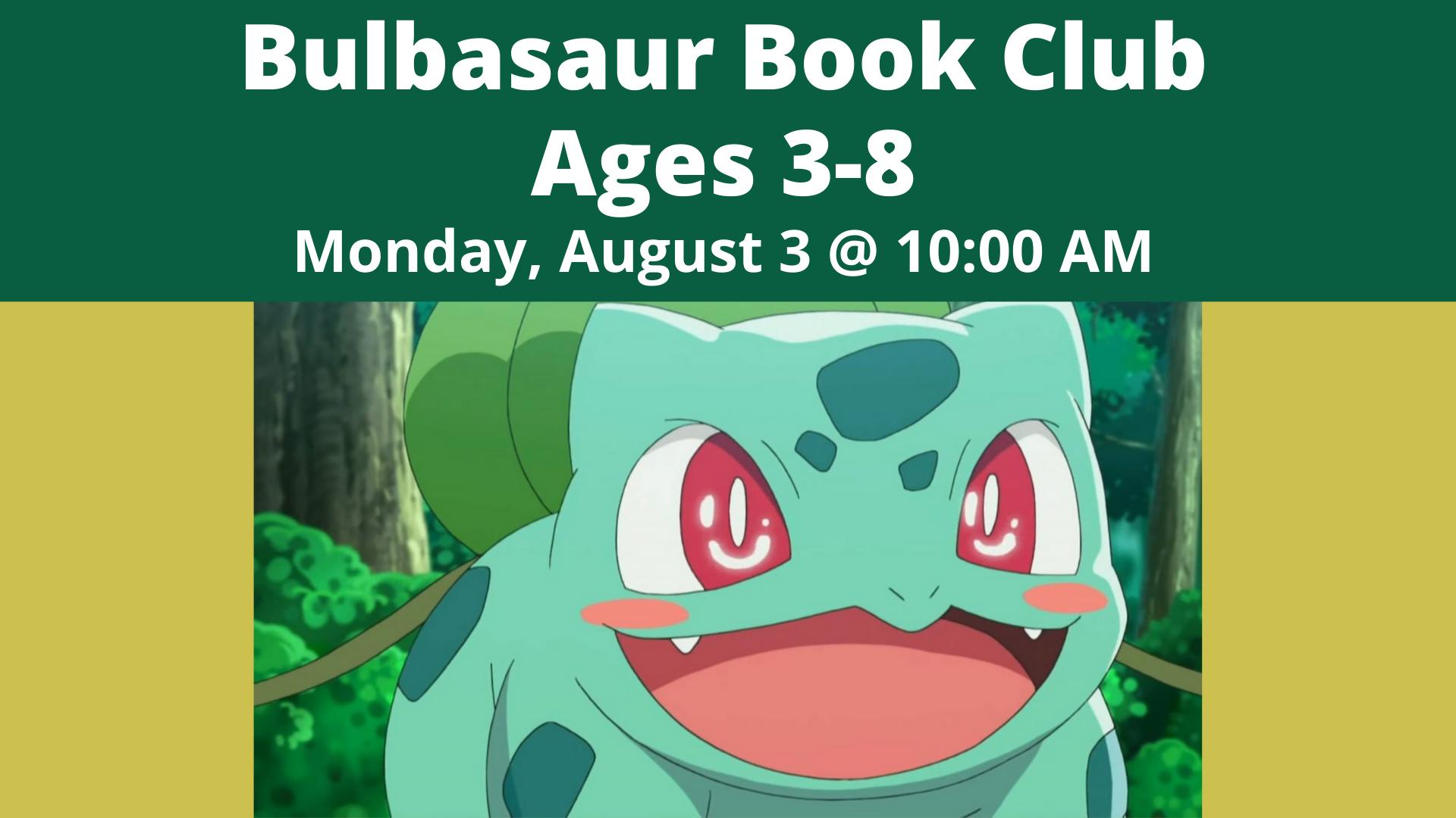 Bulbasaur Book Club