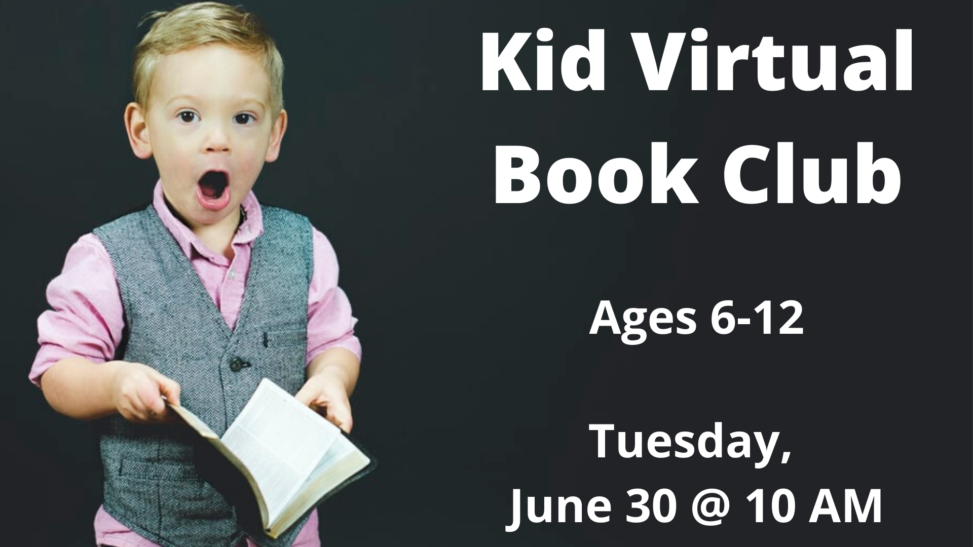Kids Book Club (ages 6-12)