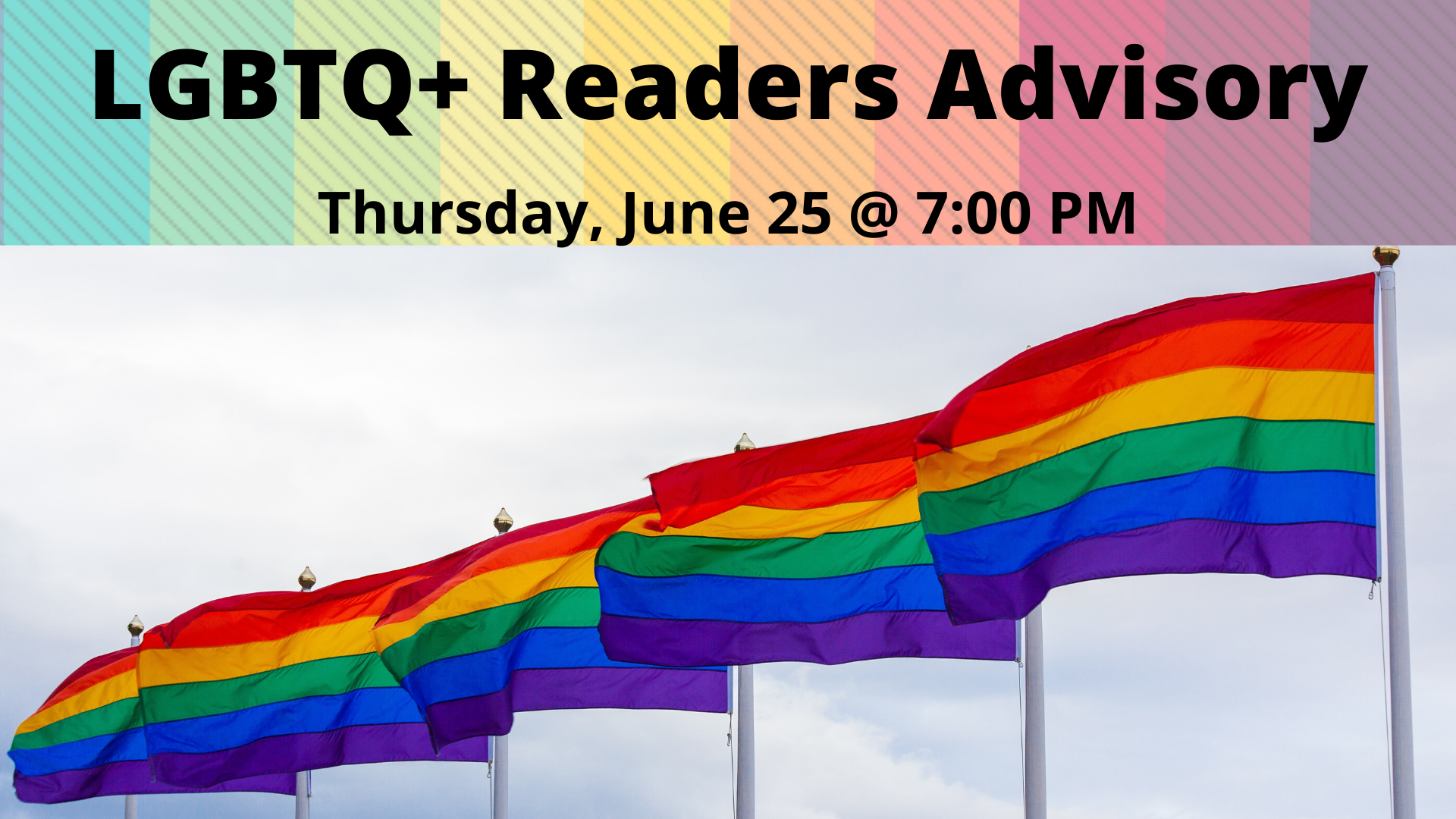LGBTQ+ Readers Advisory