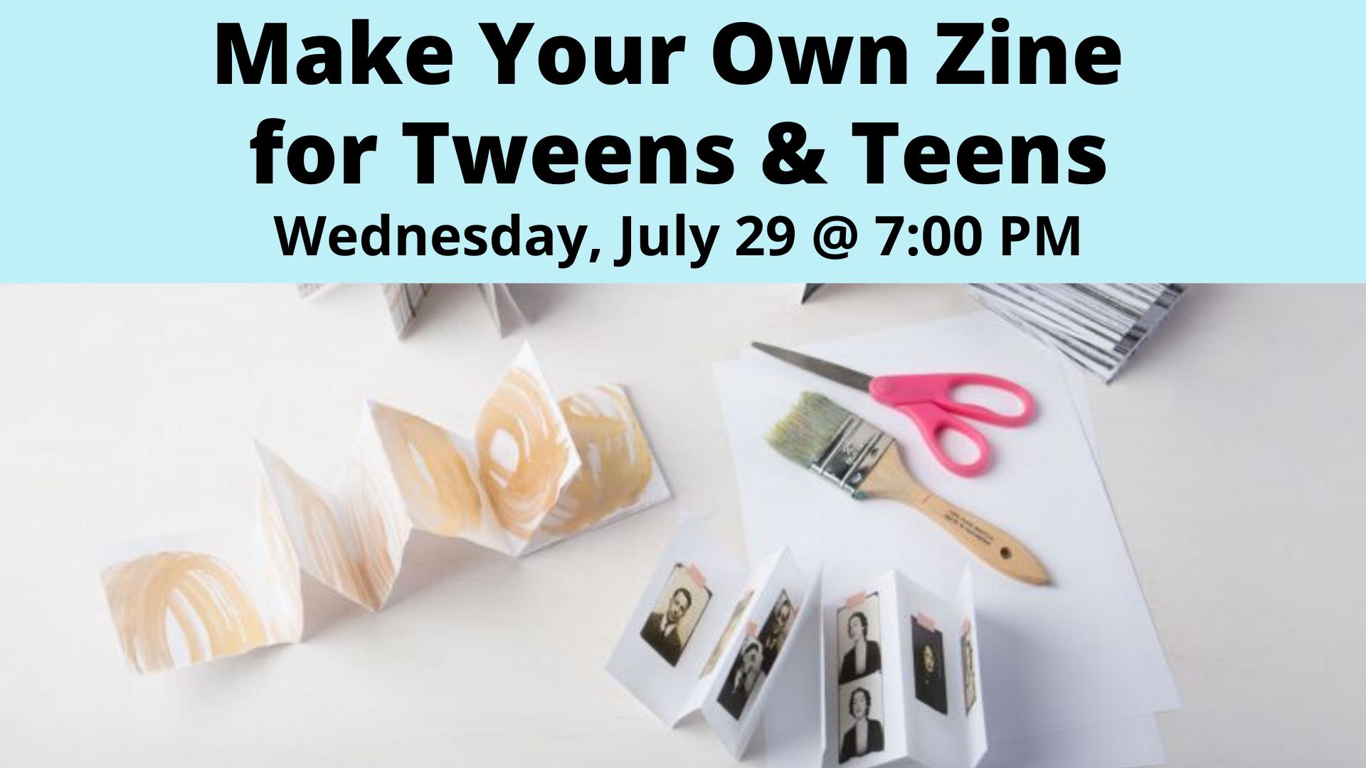 Make Your Own Zine for Tweens & Teens