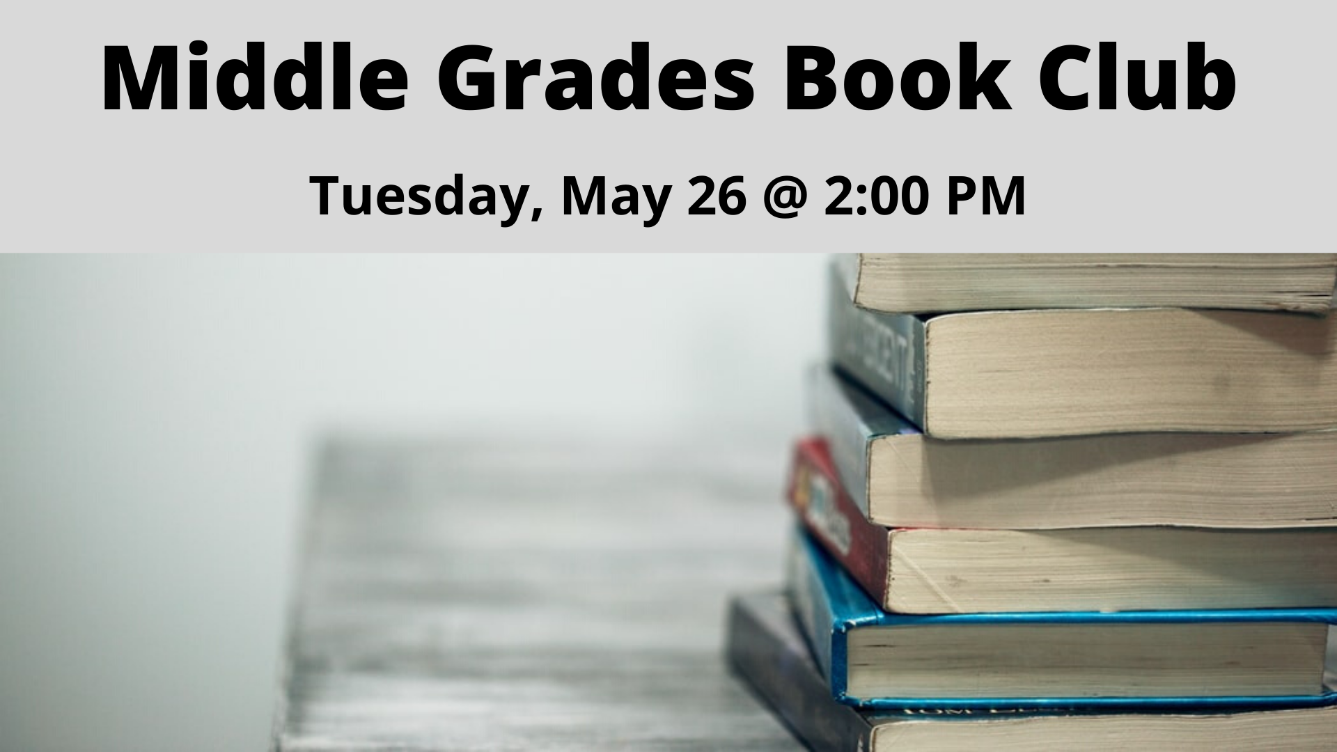 Middle Grades Book Club Image
