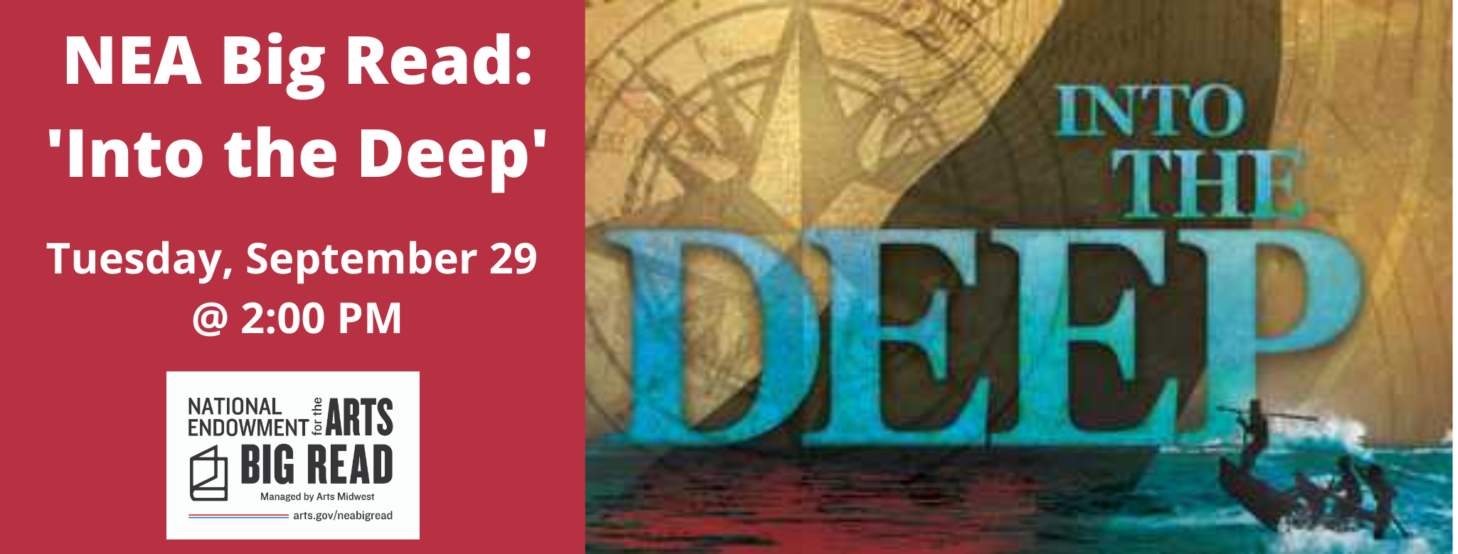 NEA Big Read: 'Into the Deep'