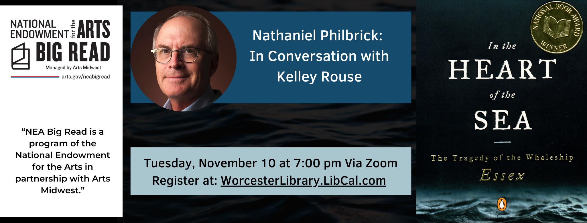 NEA Big Read Keynote Speaker: Nathaniel Philbrick
