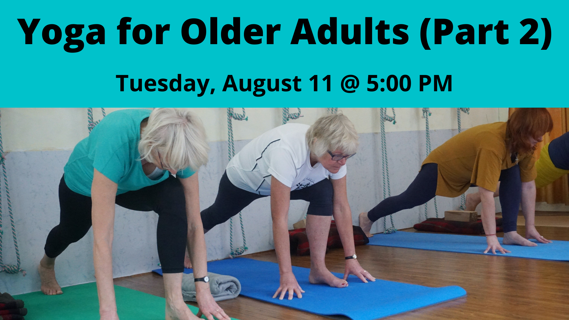 Yoga for Older Adults (Part 2)