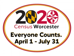2020 Census Worcester Everyone Counts April 1 - July 31